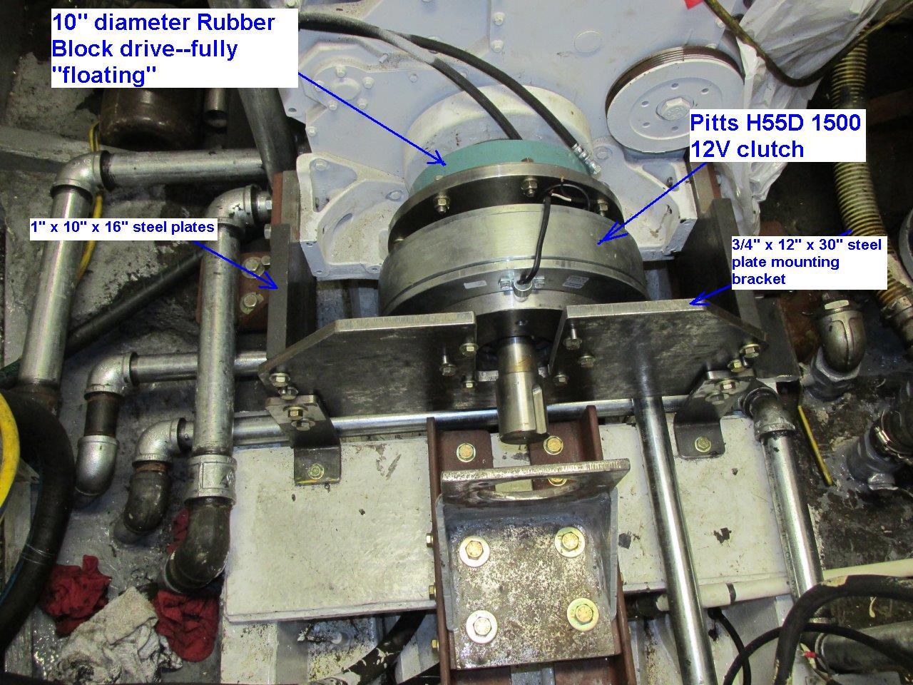 100HP QSM front drive PTO