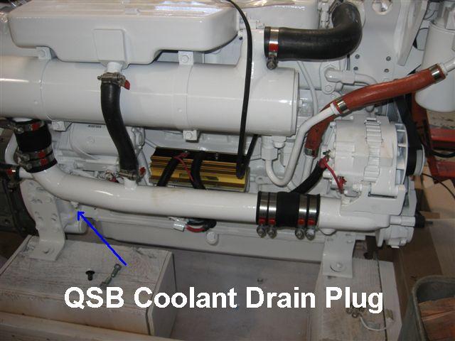 Yanmar intercooler drain cock