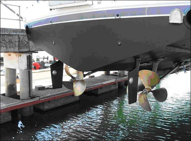Propellers Move Boats Engines Just Turn Them