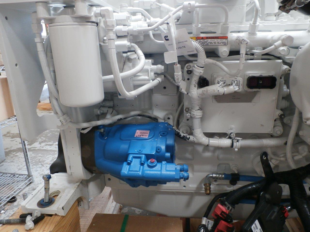 QSC with Big Gear Driven Smart Pump